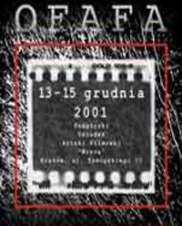 Plakat festiwalu OFAFA2001
