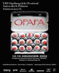 Plakat festiwalu OFAFA2002
