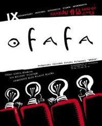Plakat festiwalu OFAFA2003