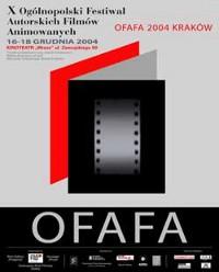 Plakat festiwalu OFAFA2004