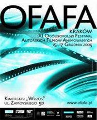 Plakat festiwalu OFAFA2005