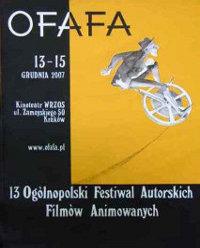 Plakat festiwalu OFAFA2007