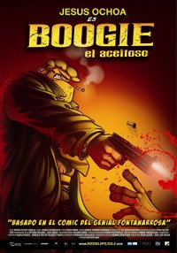 Plakat filmu animowanego Śliski Boogie