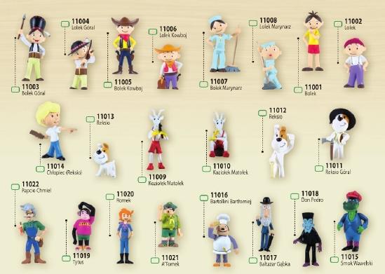 TissoToys figurki