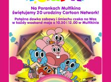 Poranki-CartoonNetwork-plakat