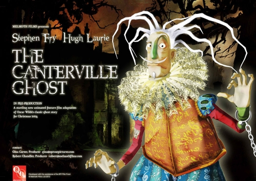 "plakat ""The Canterville Ghost"""