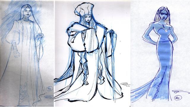 "projekty postaci z filmu ""Frozen"""