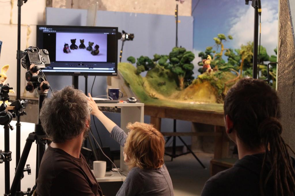Zdjęcia z planu spotu OPP