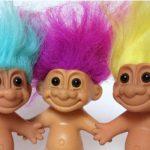 DreamWorks Animation Troll doll