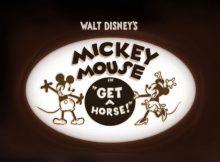 Get A Horse Myszka Mickey