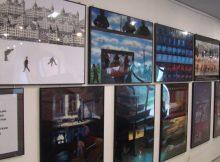 Przed Kinem Studyjnym wystawa animacyjna