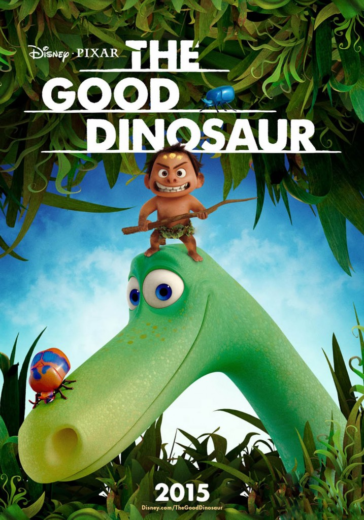 the good dinosaur plakat