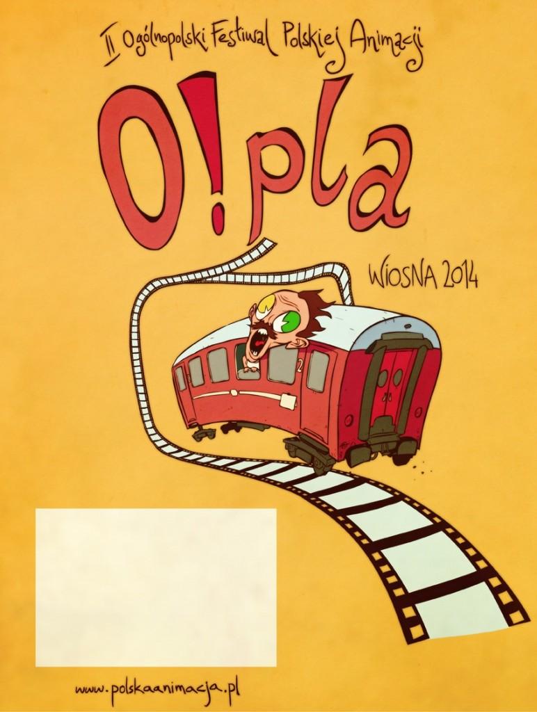 Oficjalny plakat O!PLA 2014 - autor Alek Wasilewski