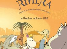 Moomins on the Riviera_plakat