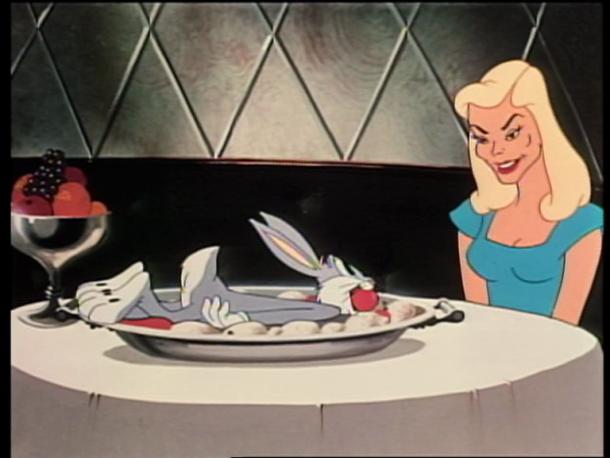 """""""Slick Hare"""" - Lauren Bacall"""
