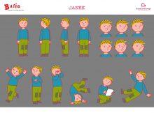 Julek z serii animowanej Basia