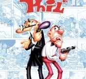 okładka komiksu Mort&Phil