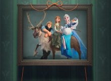 Gorączka Lodu Olaf, Elsa, Anna i Kristoff