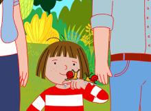 Basia animowany serial - pierwsze layauty